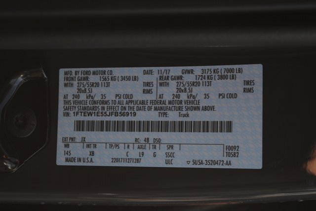 2018 F-150 Crew Cab 4x4 Pickup #FB56919 - photo 30