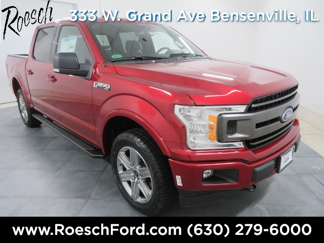 2018 F-150 SuperCrew Cab 4x4,  Pickup #18-1674 - photo 3