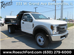 2018 F-450 Regular Cab DRW 4x2,  Monroe Dump Body #18-8068 - photo 1