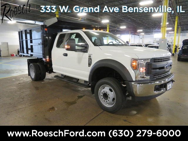 2018 F-450 Super Cab DRW 4x2,  Reading Landscape Dump #18-8071 - photo 3