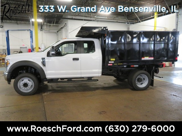 2018 F-450 Super Cab DRW 4x2,  Reading Landscape Dump #18-8071 - photo 10