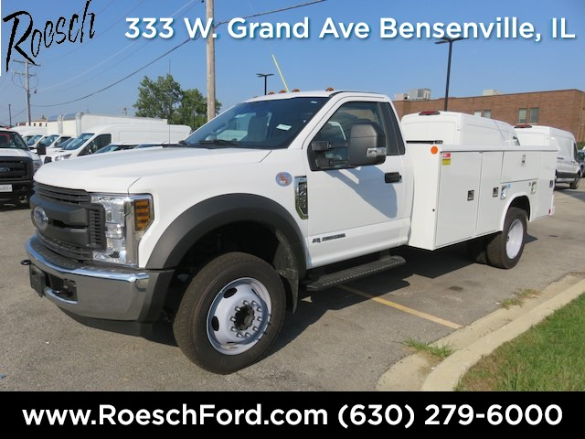 2018 F-450 Regular Cab DRW 4x2,  Reading Service Body #18-8074 - photo 3