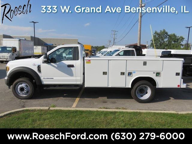 2018 F-450 Regular Cab DRW 4x2,  Reading Service Body #18-8074 - photo 4