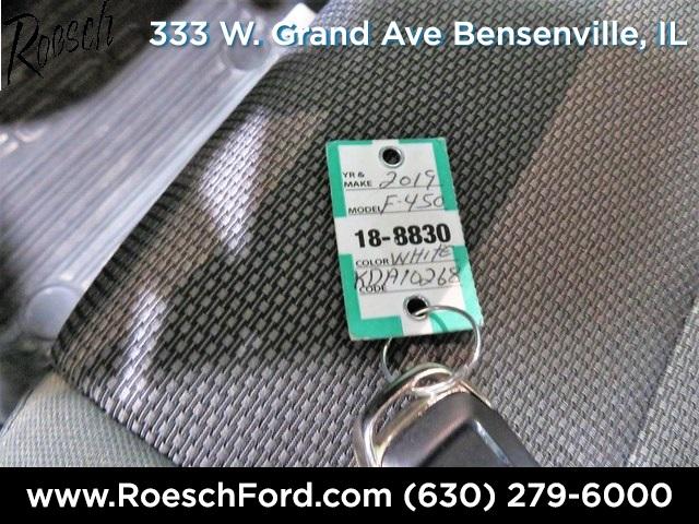 2019 F-450 Regular Cab DRW 4x2,  Monroe Versa-Line Stake Body Stake Bed #18-8830 - photo 21