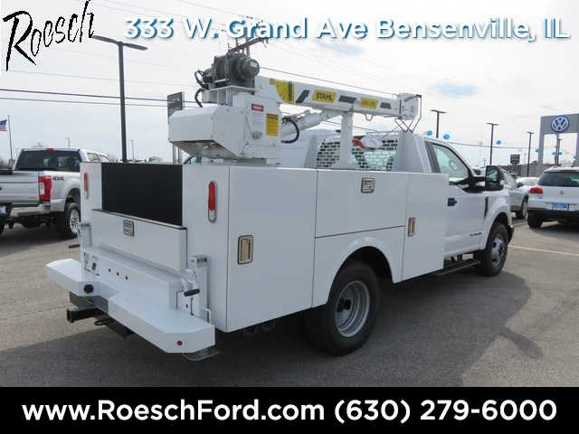 2019 F-350 Regular Cab DRW 4x2,  Stahl Challenger ST Service Body #18-9033 - photo 9