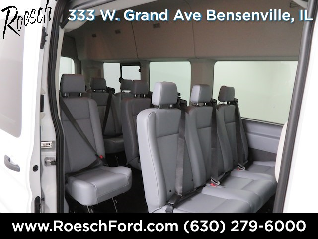 2019 Transit 350 HD High Roof DRW 4x2,  Passenger Wagon #18-9078 - photo 16
