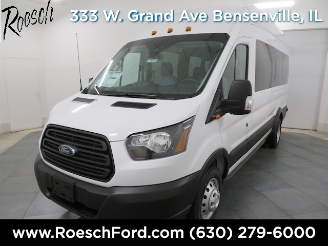 2019 Transit 350 HD High Roof DRW 4x2,  Passenger Wagon #18-9078 - photo 1