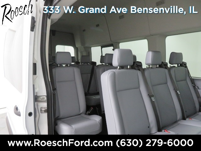 2019 Transit 350 HD High Roof DRW 4x2,  Passenger Wagon #18-9079 - photo 16