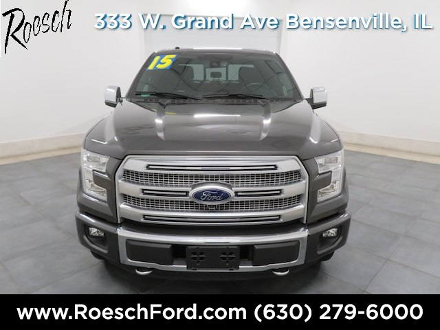 2015 F-150 SuperCrew Cab 4x4,  Pickup #181925A - photo 3