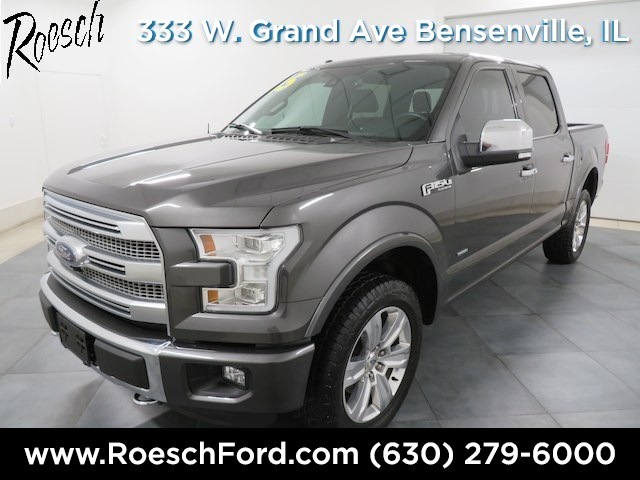 2015 F-150 SuperCrew Cab 4x4,  Pickup #181925A - photo 5