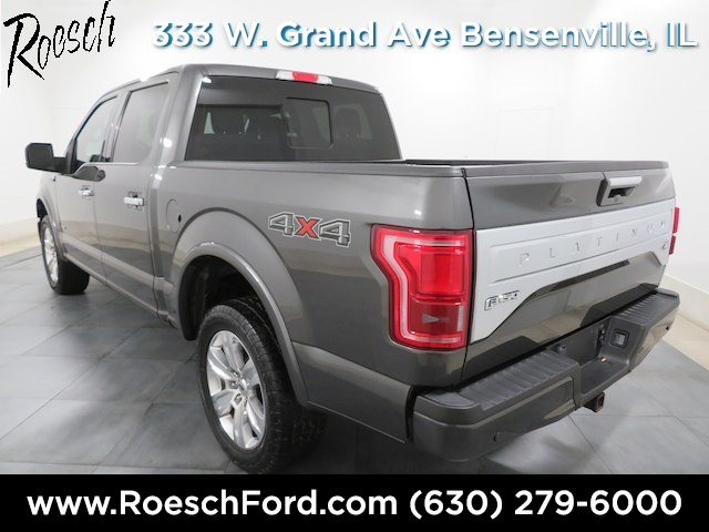 2015 F-150 SuperCrew Cab 4x4,  Pickup #181925A - photo 10