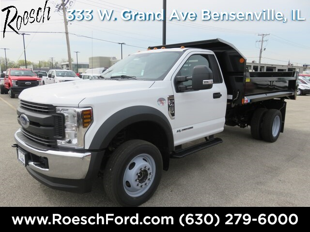 2019 F-450 Regular Cab DRW 4x4,  Monroe MTE-Zee Dump Body #19-5116 - photo 1