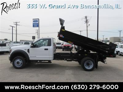 2019 F-450 Regular Cab DRW 4x4,  Monroe MTE-Zee Dump Body #19-5116 - photo 8