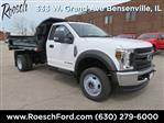 2019 F-450 Regular Cab DRW 4x4,  Monroe MTE-Zee Dump Body #19-5116 - photo 3