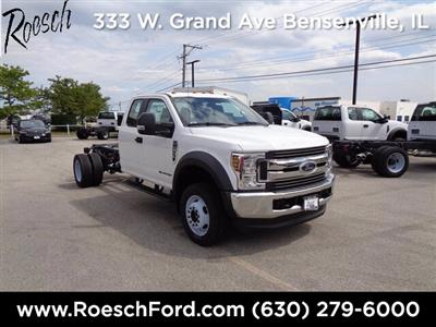 2019 Ford F-550 Super Cab DRW 4x4, Cab Chassis #19-5362 - photo 1