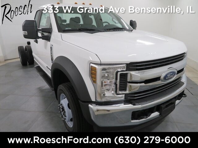 2019 Ford F-550 Super Cab DRW 4x4, Cab Chassis #19-5495 - photo 1