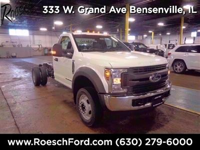 2019 Ford F-550 Regular Cab DRW 4x2, Cab Chassis #19-5719 - photo 1