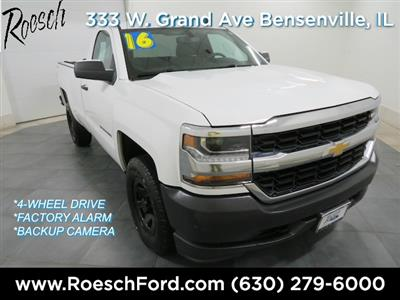 2016 Silverado 1500 Regular Cab 4x4,  Pickup #191092A - photo 1