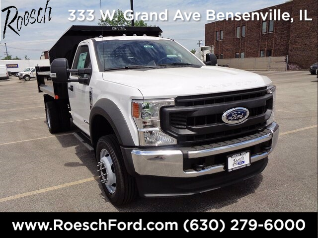2020 Ford F-550 Regular Cab DRW 4x4, Crysteel Dump Body #20-7208 - photo 1
