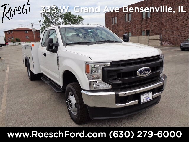 2020 Ford F-350 Super Cab DRW 4x4, Monroe Service Body #20-7209 - photo 1