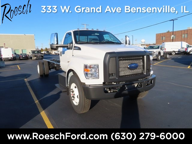 2021 Ford F-650 Regular Cab DRW 4x2, Cab Chassis #20-7475 - photo 1