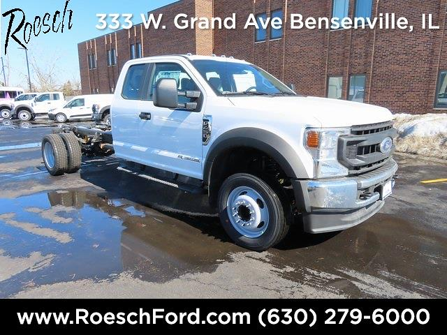 2021 Ford F-450 Super Cab DRW 4x2, Cab Chassis #20-7544 - photo 1