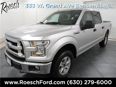 2017 F-150 Crew Cab 4x4 Pickup #E0013 - photo 1