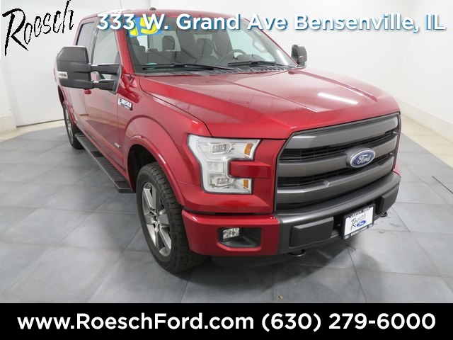2015 F-150 SuperCrew Cab 4x4,  Pickup #P2628 - photo 1