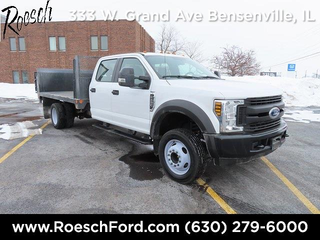 2019 Ford F-450 Crew Cab DRW 4x2, Platform Body #T1128 - photo 1