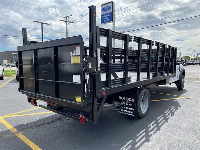 2017 Ford F-550 Regular Cab DRW 4x2, Stake Bed #T1162 - photo 1