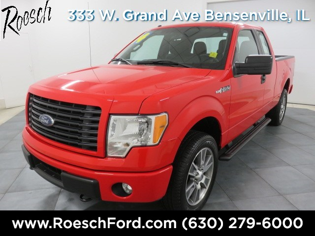 2014 F-150 Super Cab 4x4 Pickup #T623 - photo 5
