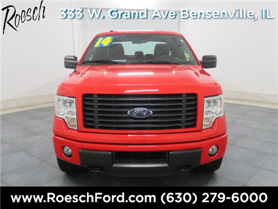 2014 F-150 Super Cab 4x4 Pickup #T623 - photo 4
