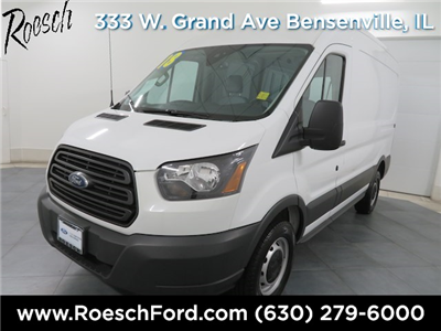 2018 Transit 250 Med Roof 4x2,  Empty Cargo Van #T763 - photo 7