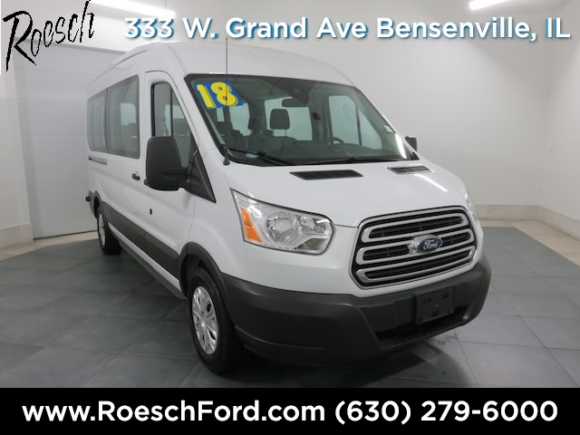 2018 Transit 350 Med Roof 4x2,  Passenger Wagon #T800 - photo 1