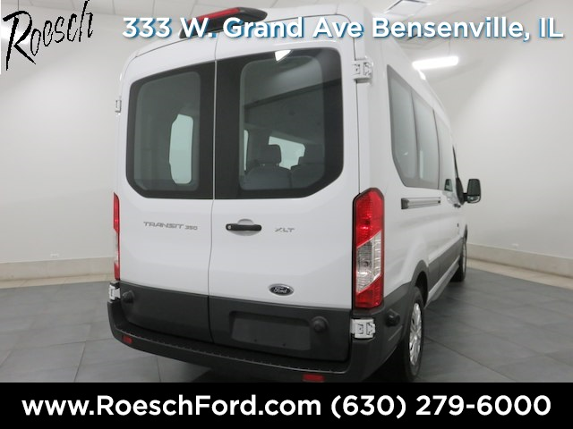 2018 Transit 350 Med Roof 4x2,  Passenger Wagon #T800 - photo 2