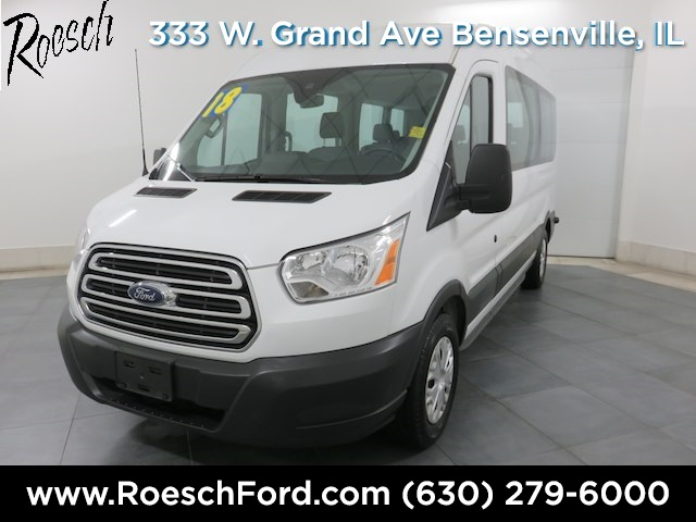 2018 Transit 350 Med Roof 4x2,  Passenger Wagon #T800 - photo 5
