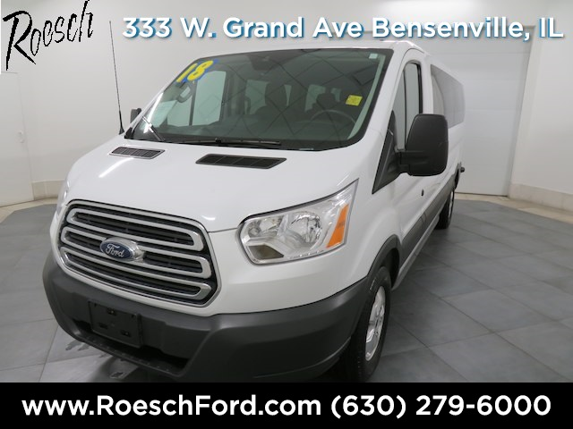 2018 Transit 350 Low Roof 4x2,  Passenger Wagon #T819 - photo 4