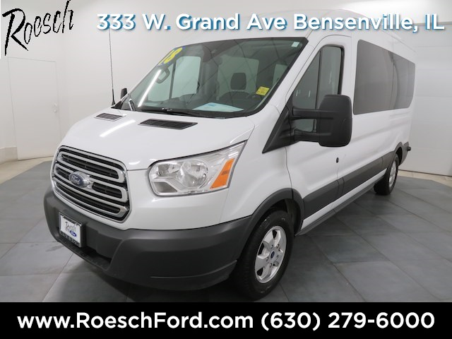 2018 Transit 350 Med Roof 4x2,  Passenger Wagon #T824 - photo 5