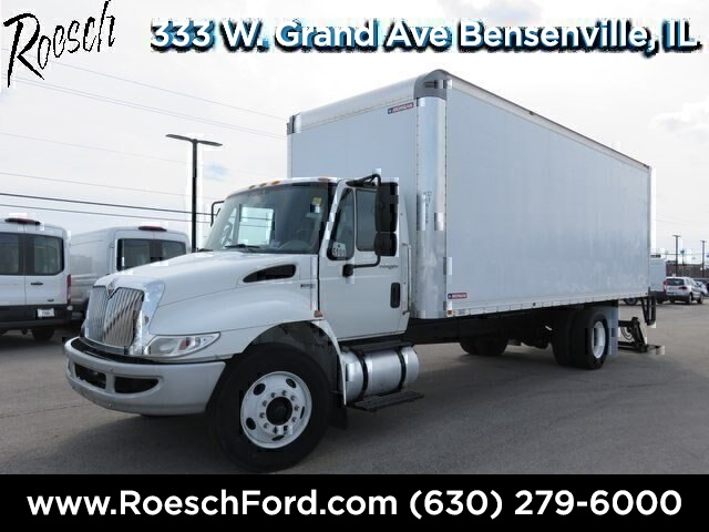 2012 International Truck 4x2,  Morgan Dry Freight #T878 - photo 4