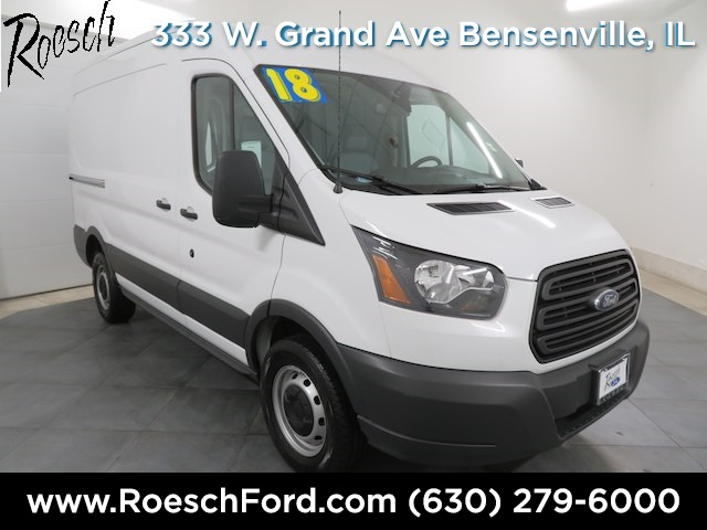 2018 Transit 250 Med Roof 4x2,  Empty Cargo Van #TE839 - photo 1