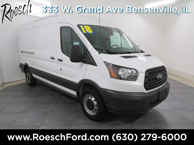 2018 Transit 250 Med Roof 4x2,  Empty Cargo Van #TE862 - photo 1