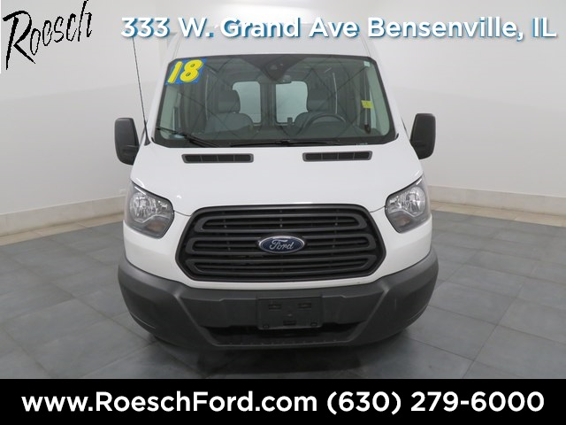 2018 Transit 250 Med Roof 4x2,  Empty Cargo Van #TE862 - photo 3