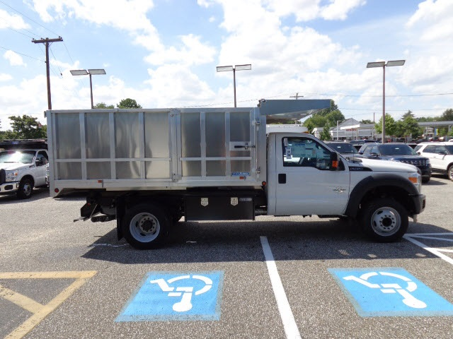2016 F-450 Regular Cab DRW, Dejana Landscape Dump #165775 - photo 7