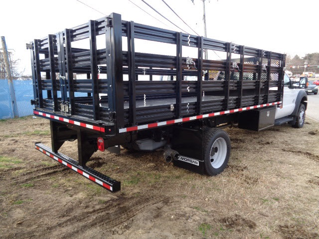 2016 F-550 Regular Cab DRW, Morgan Stake Bed #166780 - photo 2