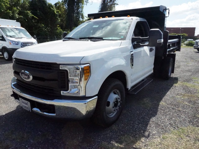 2017 F-350 Regular Cab DRW, Rugby Eliminator LP Steel Dump Body #176539 - photo 1