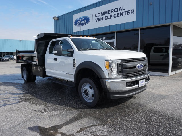 2017 F-550 Super Cab DRW 4x4, Reading Dump Body #176904 - photo 4