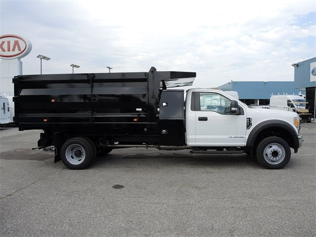 2017 F-450 Regular Cab DRW, Rugby Landscape Body Landscape Dump #176912 - photo 9