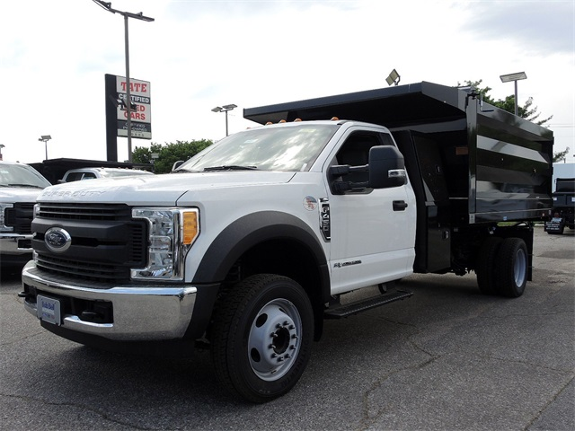 2017 F-450 Regular Cab DRW,  Rugby Landscape Dump #176912 - photo 4