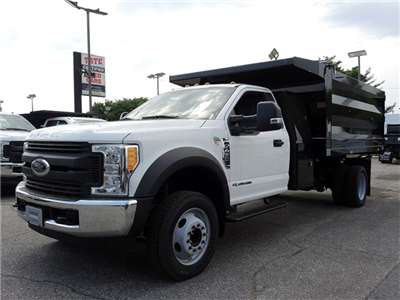 2017 F-450 Regular Cab DRW, Rugby Landscape Body Landscape Dump #176912 - photo 3