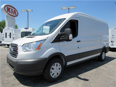2018 Transit 250 Med Roof 4x2,  Empty Cargo Van #185495 - photo 5